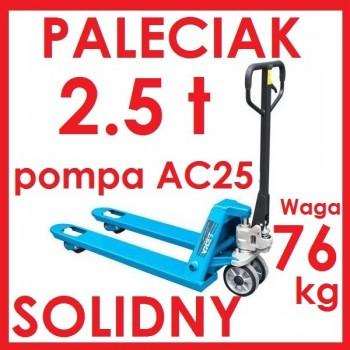 WÓZEK PALETOWY PALECIAK 2.5 t 1150m