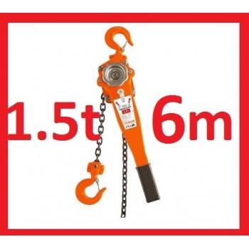 wciągarka dzwigniowa 1.5t 6m wyciągarka