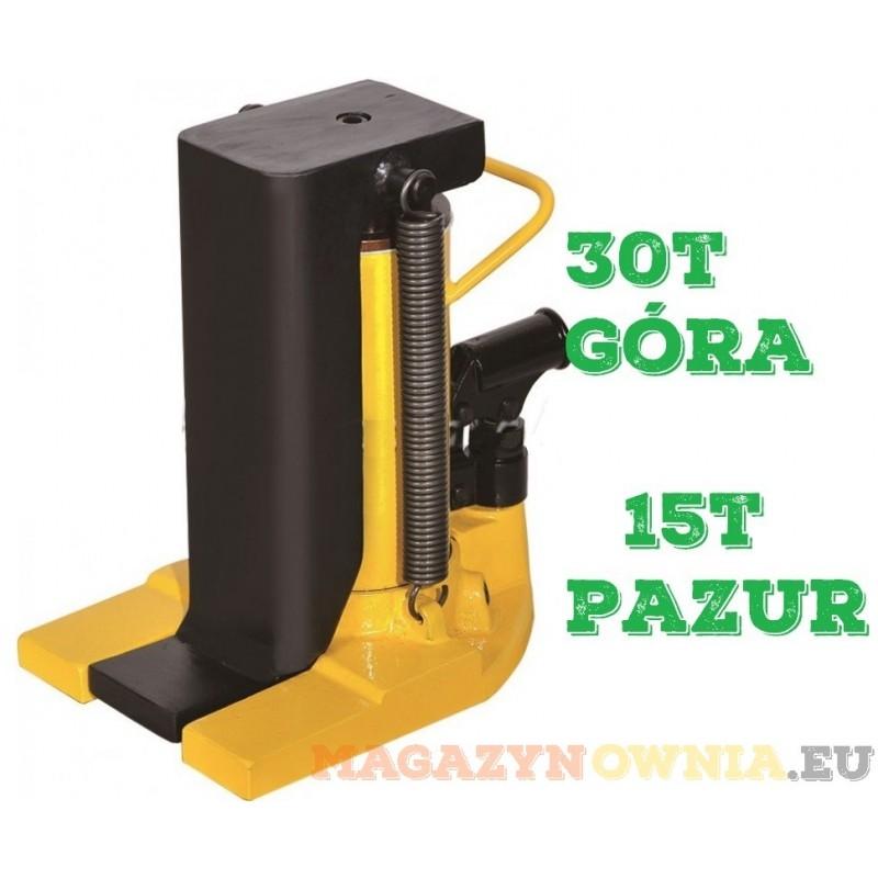 Podnośnik pazurowy maszynowy hydrauliczny niskiego podnoszenia 30t
