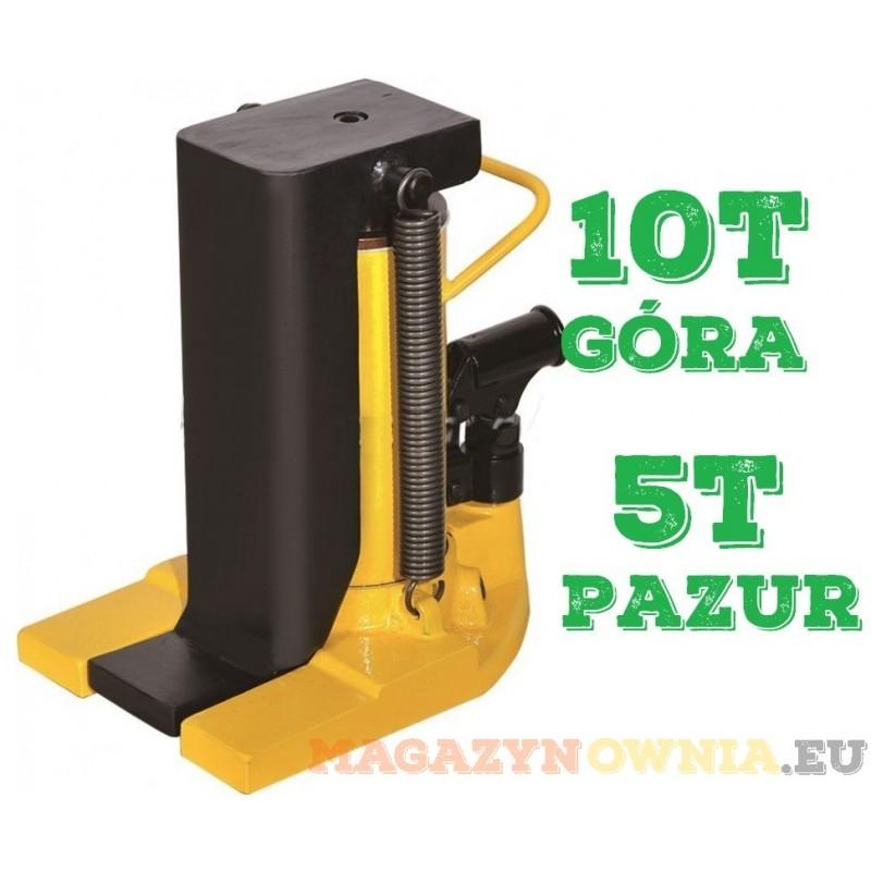 Podnośnik pazurowy hydrauliczny niskiego podnoszenia 10t