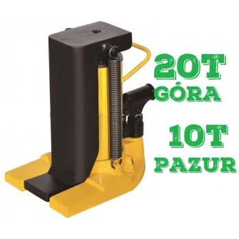 Podnośnik pazurowy maszynowy hydrauliczny niskiego podnoszenia 20t