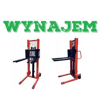 Wynajem / Wypożyczenie Wózek paletowy masztowy podnośnikowy hydrauliczny 750 kg 1600mm
