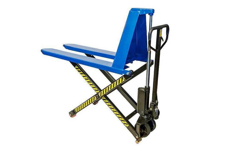 wózek nożycowy krzyżowy